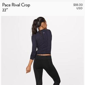 Lululemon Pace Rival. my loss, your gain